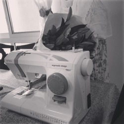 The sewing machine Fatima gave her mother for Mother's Day 2015. (Photo by Fatima Alnuaimi)